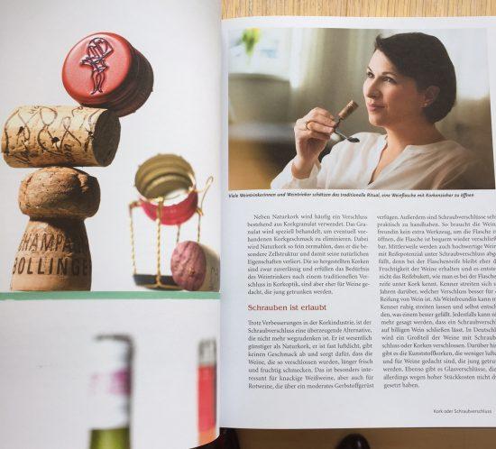 Blick ins Frauenweinbuch von Romana Echensperger
