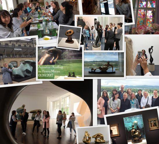 In diesem Jahr ging der Agenturausflug ins Arp Museum zur Henry-Moore-Ausstellung