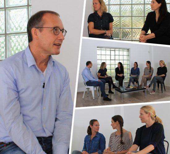 Diskussionsrunde mit einem Kinderarzt zum Thema Meningokokken